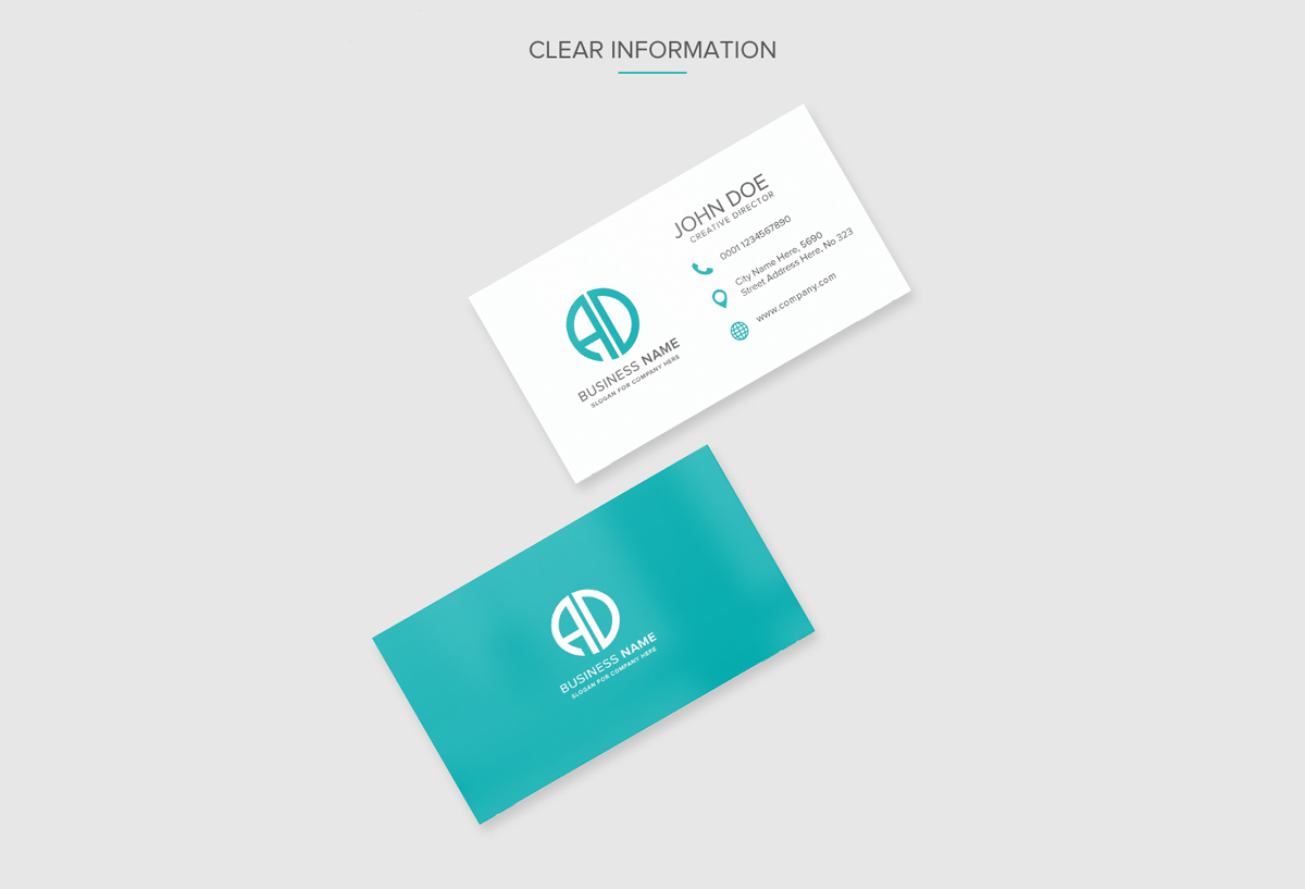 Free Download Business Card PSD