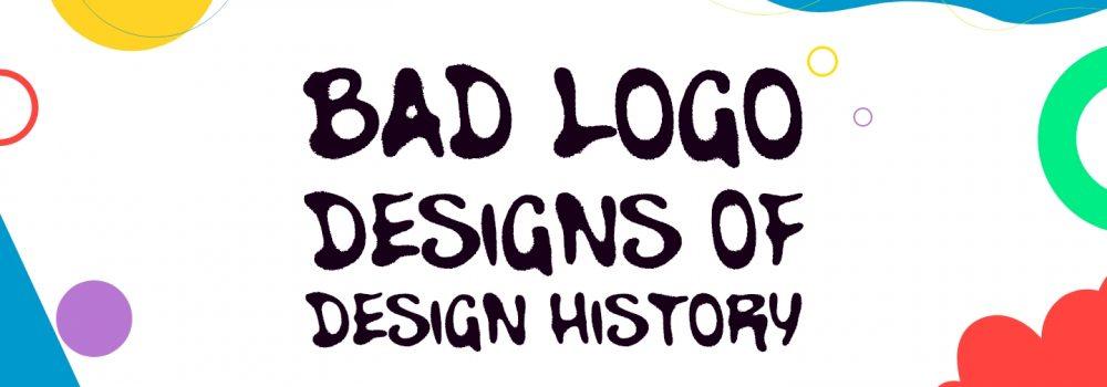 Bad Logo Designs of Design History.